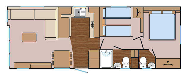 Kingfisher 32 Floorplan