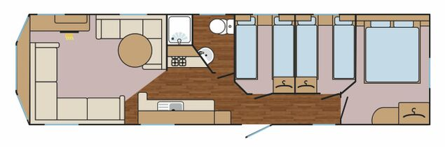 Oyster Catcher Floorplan