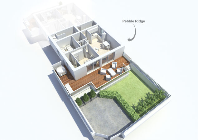 Pebble Ridge- Dog Friendly For 2020! Floorplan