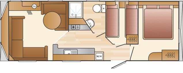 Pipit Dog Friendly Floorplan